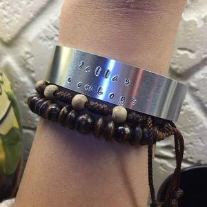 Customizable Cuff Bracelets